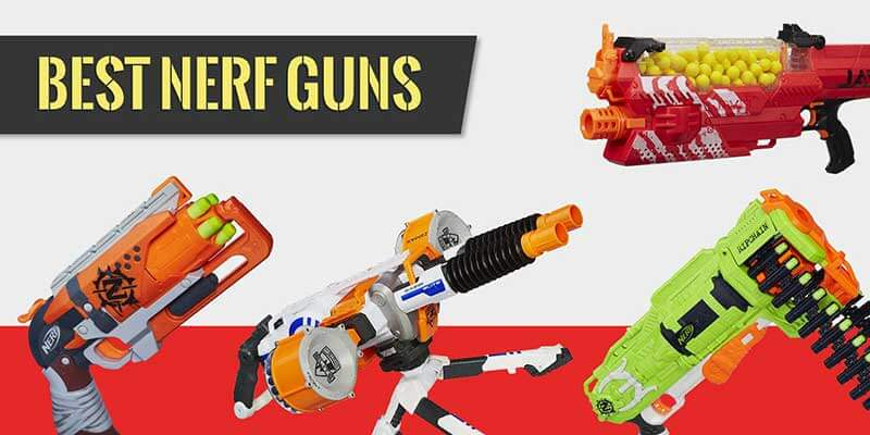 Best Nerf Guns Featured Image
