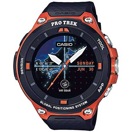 Casio Pro Trek Resin GPS Smartwatch