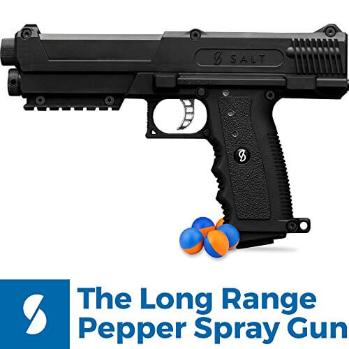 Salt Supply Long Range Pepper Spray Gun