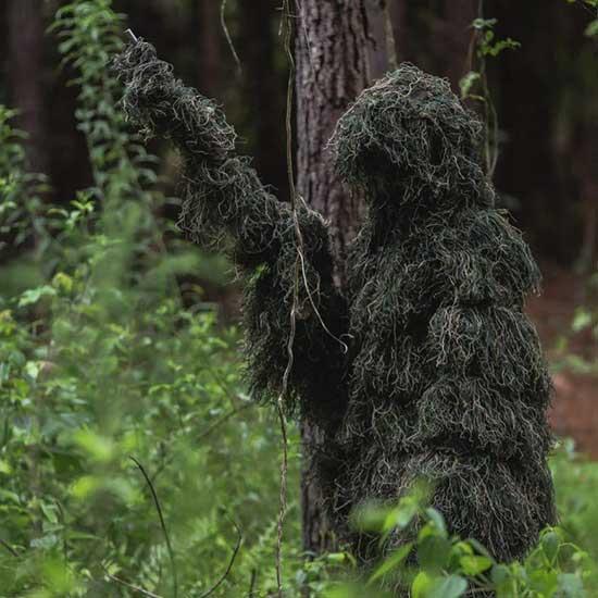 Woodland Ghillie Suit