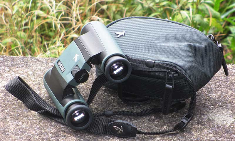 Compact Binoculars with a Carry Case