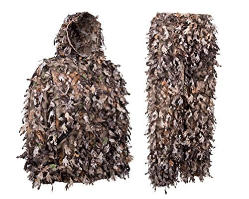 North Mountain Gear Ghillie 3D Woodland Brown