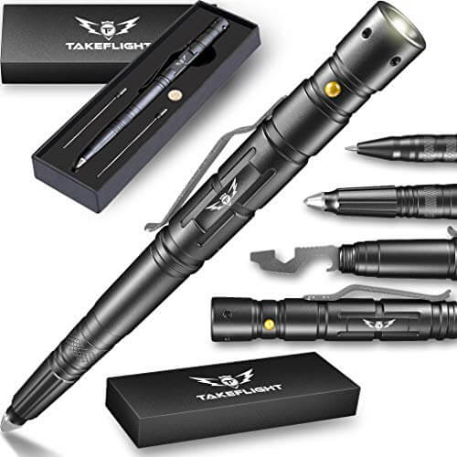 TF Tactical Pen with Flashlight
