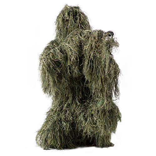 Vivo 4-Piece Camo Woodland Ghillie Suit