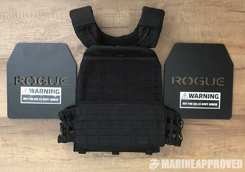5.11 TacTec Plate Carrier with Rogue Weight Plates