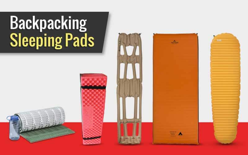 A Few Backpacking Sleeping Pads