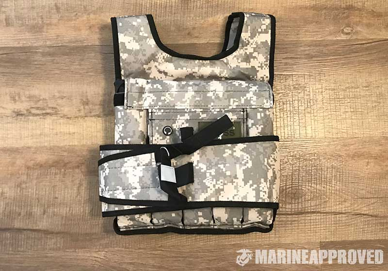 Cross101 Adjustable Weighted Vest