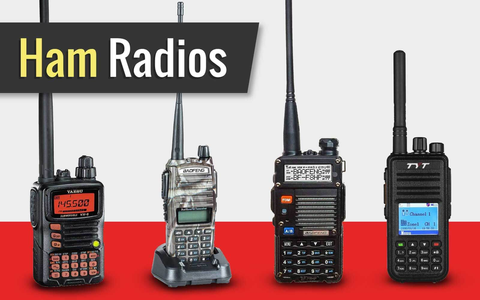 The Best Ham Radios on the Market
