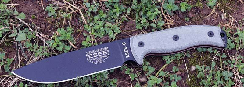 ESEE Knives 6P Fixed Balde Backpacking Knife