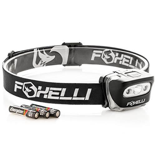 Foxelli Headlamp