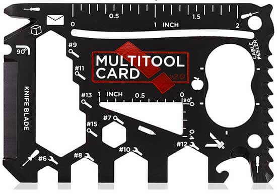 Multitool Card Black Edition V2.1