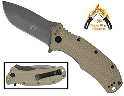 Off-Grid Knives Rapid Fire