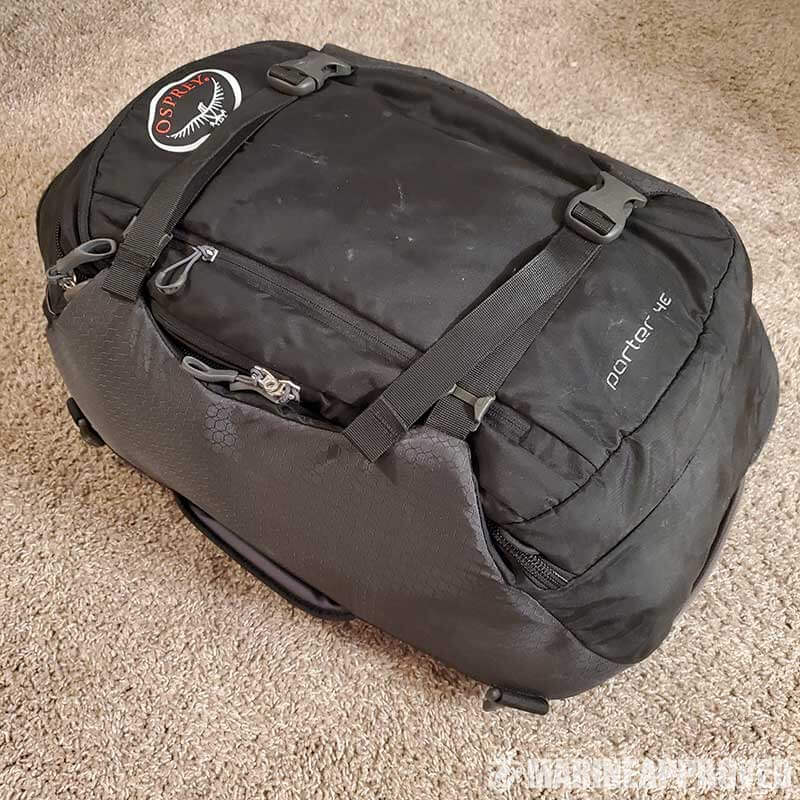 Osprey Porter 46 Packed Full