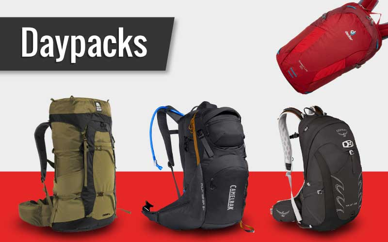 Some of My Favorite Daypacks