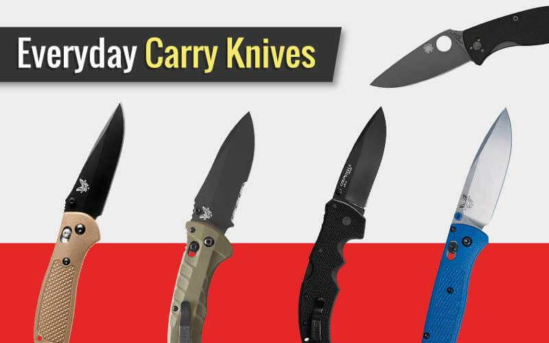 Some of the Best EDC Knives (Featured Image)