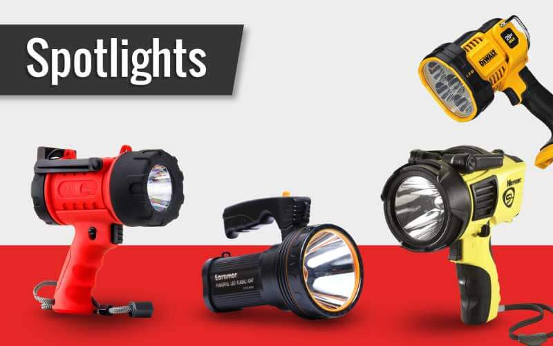 Some of the Brightest Spotlights Available