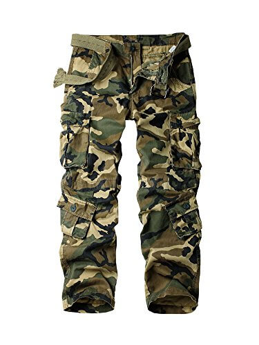 Ochenta Cotton Military Cargo Pants