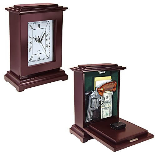 Peace Keeper Tall Rectangular Clock