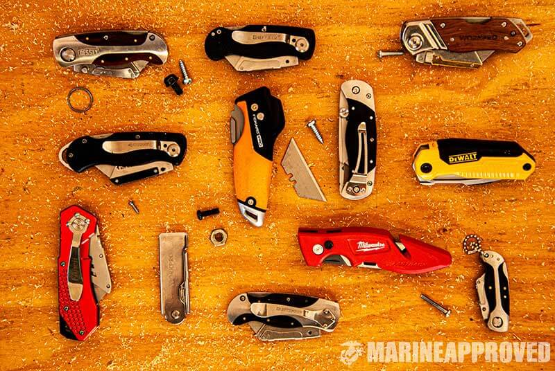 Some of the Best Utility Knives We Tested