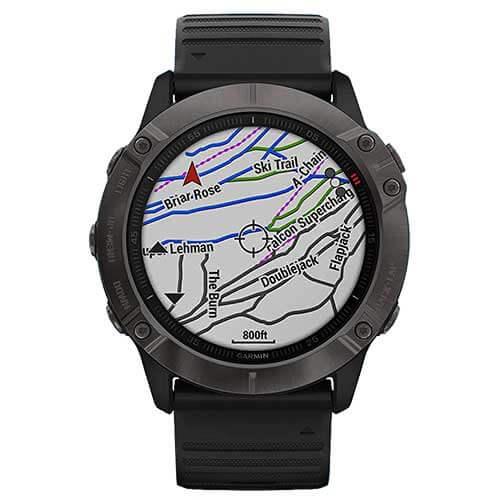 Garmin Fenix 6X Sapphire GPS Smartwatch