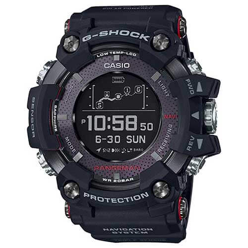 G-Shock Rangeman with Solar Assisted GPS