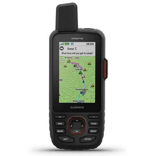 Garmin GPSmap 66i GPS-and-Satellite Communicator Device
