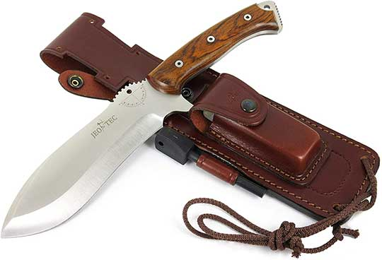 Jeo Tech 55 Bushcraft Survival Knife