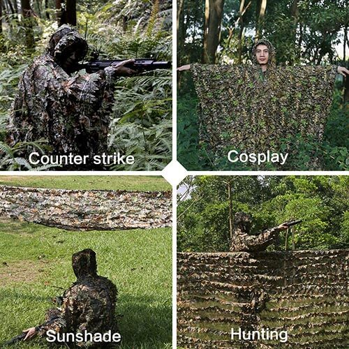 Zicac Outdoor Ghillie Suit