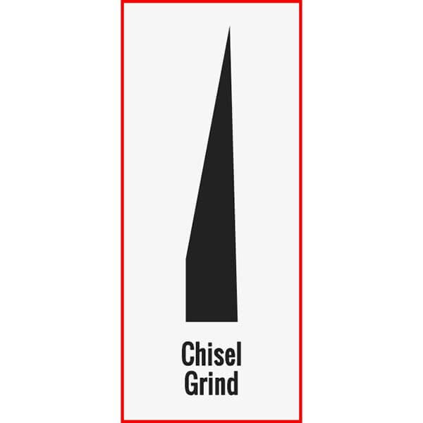 Chisel Grind Example