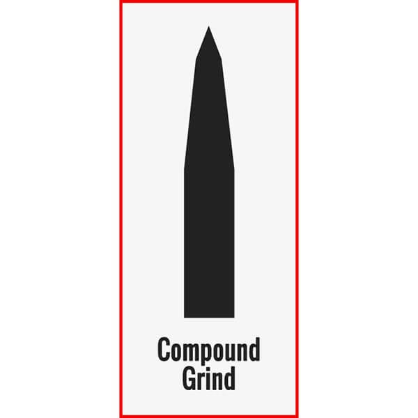 Compound Blade Grind Example