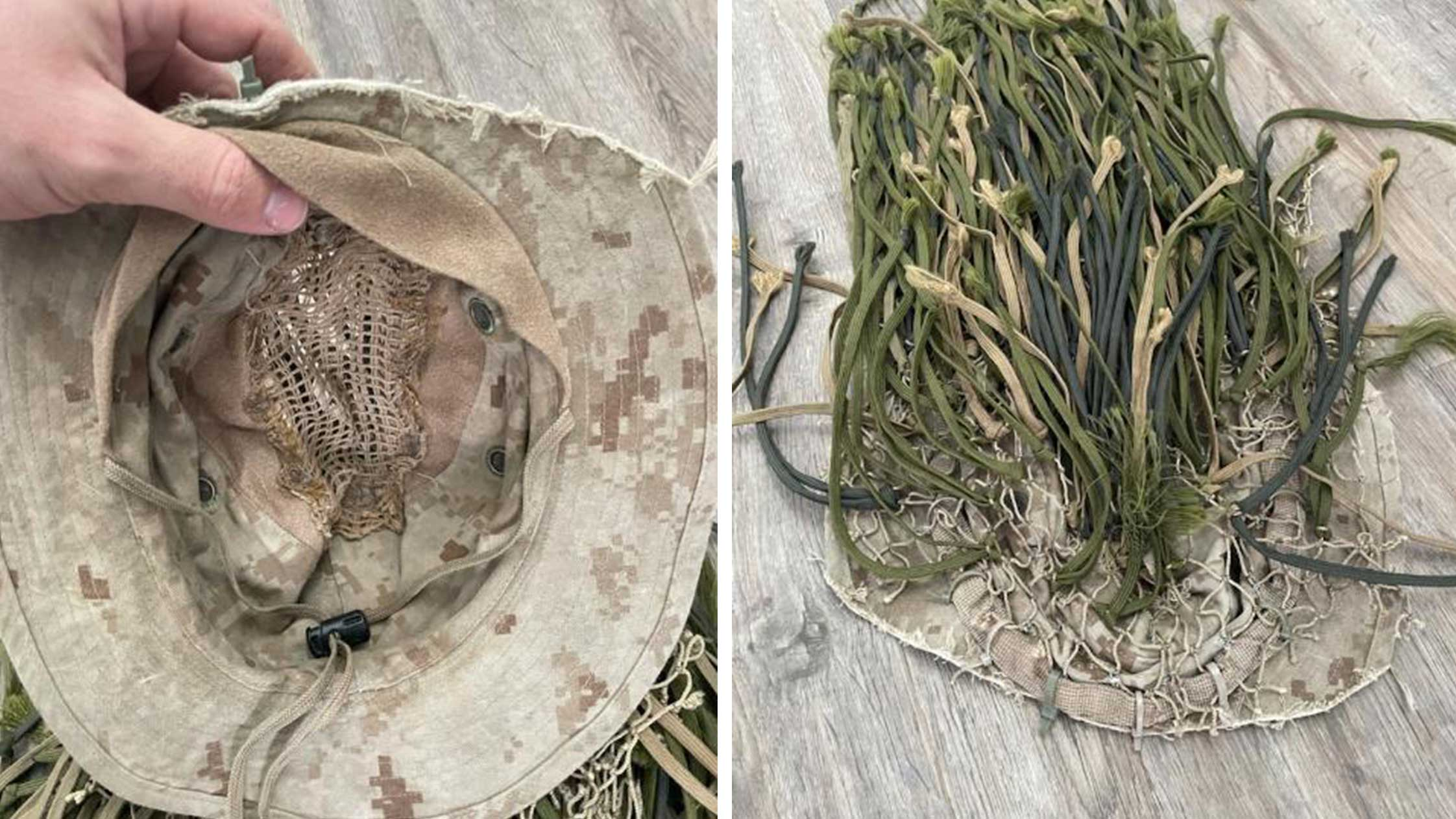 Creating a Ghillie Veil