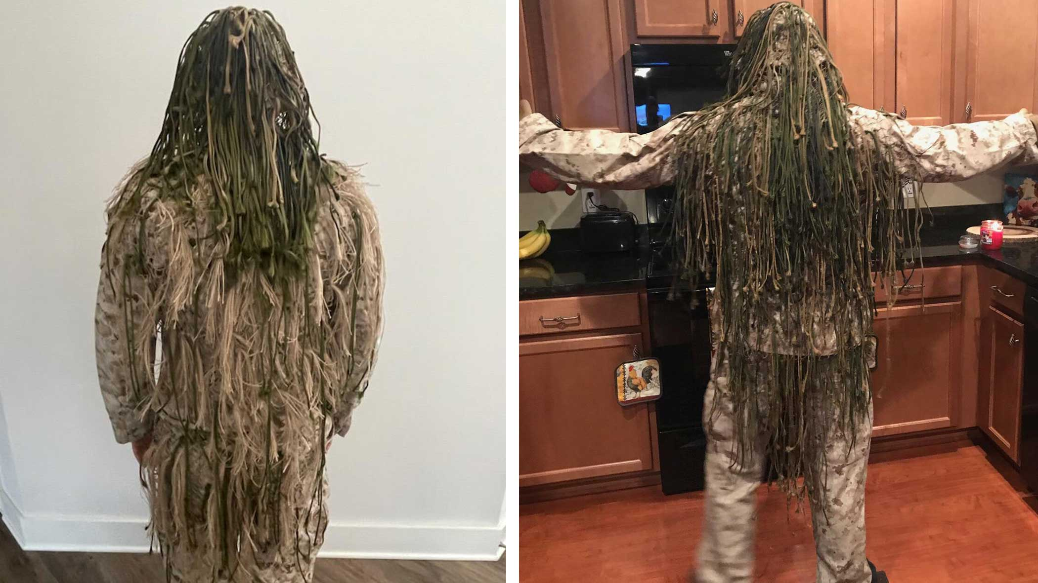 Ghillie suit comparisons