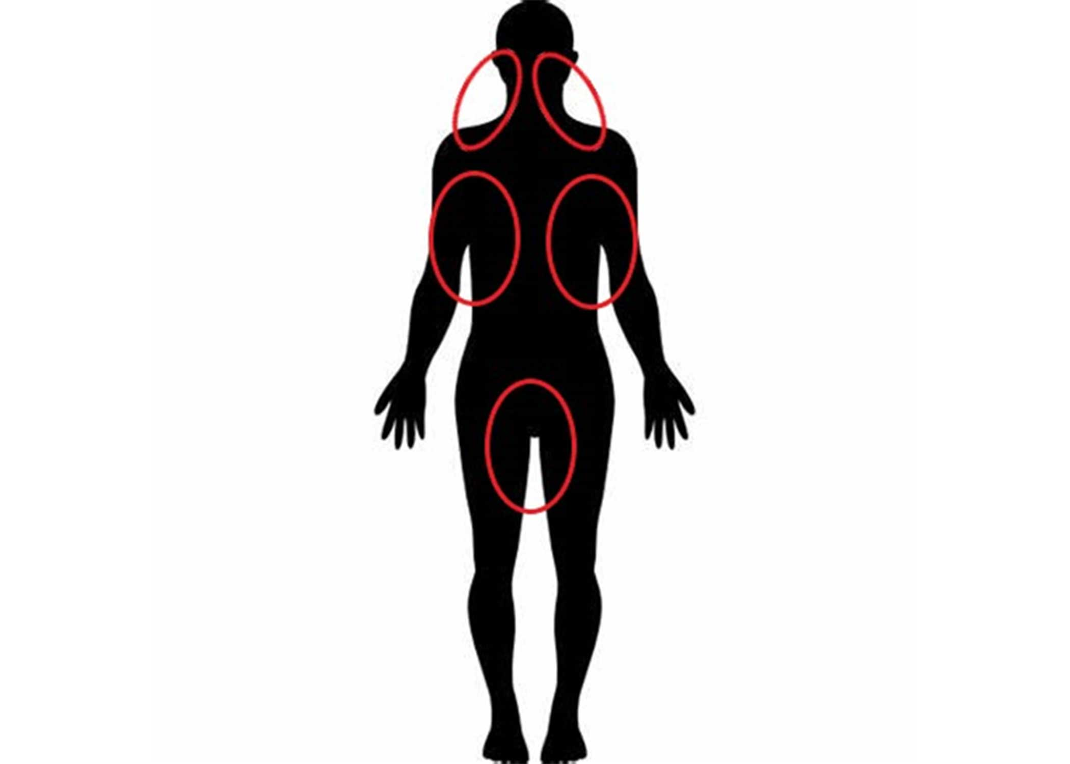 Human Silhouette Diagram