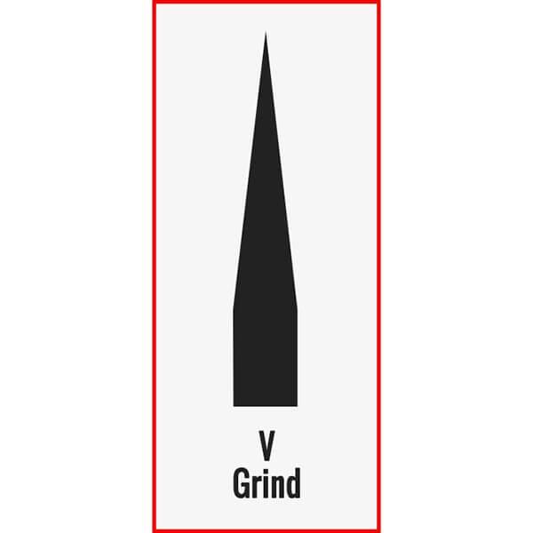 Knife V-Grind Example