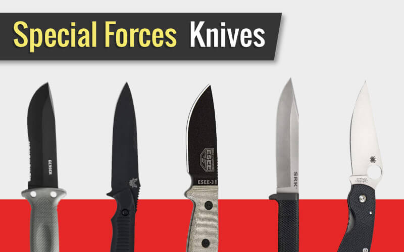 Some Knives Used by Special Forces