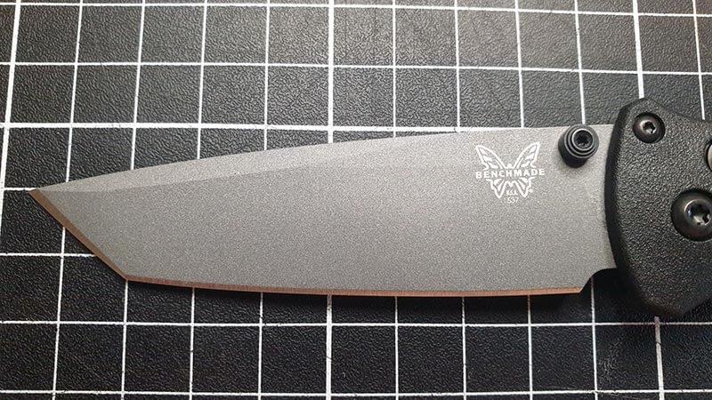 Tanto Blade Shape Close Up View