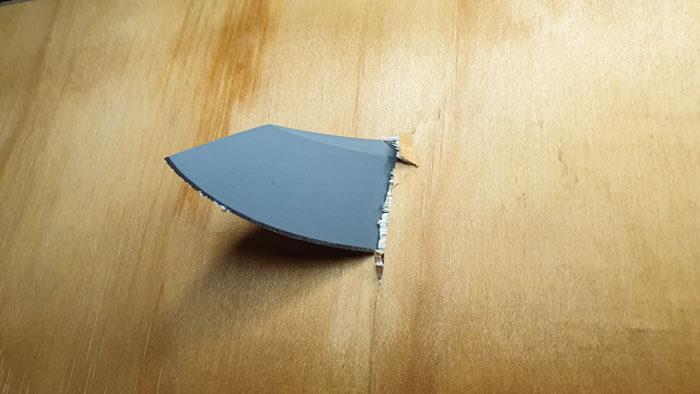 Reverse Tanto Blade Piercing