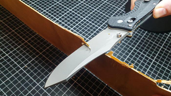 Reverse Tanto Blade Whittling