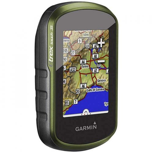 Touch Screen Hiking GPS